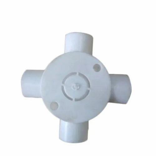 4 Way Round PVC Junction Box