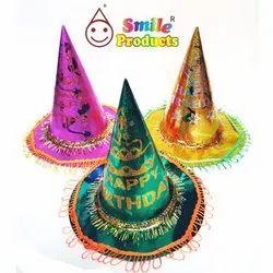 Party Paper Birthday Cap