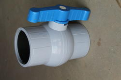 5mm PP Solid Ball Valve
