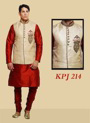 Jacket Kurta Pajama For Men