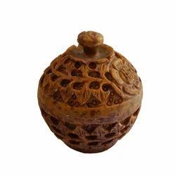 Soapstone Potpuri Box