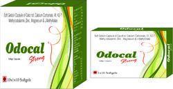 Soft Gelatin Capsule Of Calcitriol Calcium Carbonate Vitamin K2-7 Methylcobalamin Zinc Magnesium