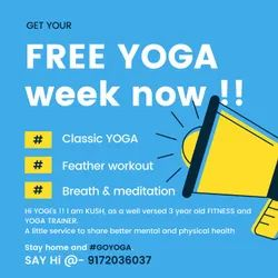 Unisex 6:30am To 11:00am Slip Disc Yoga, Applicable Age Group: above 16 years