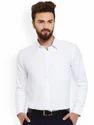 Mens Full Sleeve Formal White Shirts