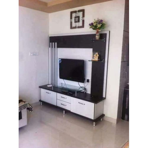Living Room Wooden Lcd Tv Unit