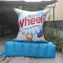 Active Wheel Advertising Stand
