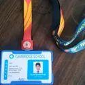 Multi Color Lanyard PVC Id Card