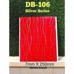 DB-106 Red PVC Wall Panel, For Residential & Commercial, Thickness: 1.2 mm