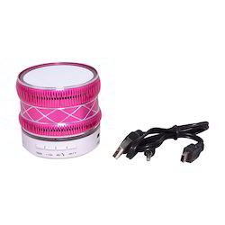 Zydeco S33U Bluetooth Speaker (White & Pink)