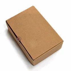 牛皮纸棕色硬纸盒,多用途,尺寸(LXWXH)(英寸):12 × 8 × 5英寸