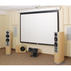 Wall Mount Home Theater Projector Screen