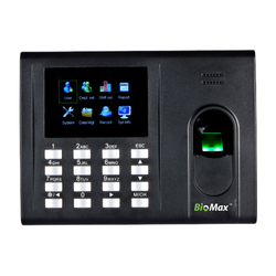 Biomax K-30 Fingerprint Time Attendance System