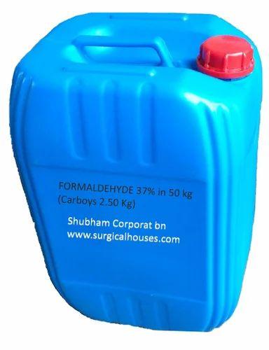 FORMALDEHYDE 37% in 50 kg (Carboys 2.50 Kg)