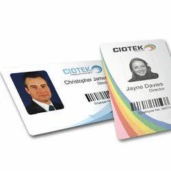 Plastic ID Card Printing Service
