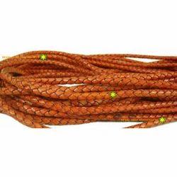 Antique Tomato Color Braided Cords