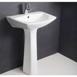 Ceramic Plain Home Wash Basin