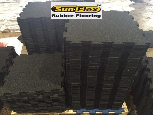 And Sunflex Interlocking Rubber Floor Tile Mm And Mm - Mate flex flooring