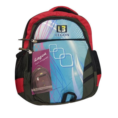 567df615ab Canvas Printed Light Weight School Backpack