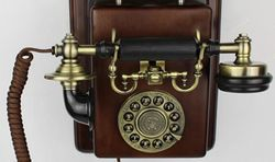 Vintage Antique Wall Mounting Telephone