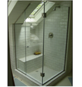 Frame Less Corner Type Shower Enclosure