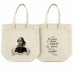 Cotton Printed Democratic Convention Tote Bag, Size: 2-5 Kg