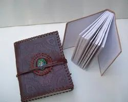 Binding Stone Brown Leather Journal