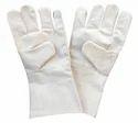 Green Cotton Drill Glove