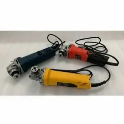 Blue, Red And Yellow Electric Angle Grinder, 850w, 230 V