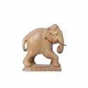Sandal Wood Skin Color Skin Finish Elephant, For Interior Decor