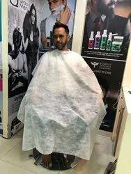Non Woven Fabric Plain Disposable Salon Aprons