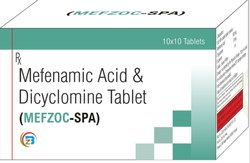 Mefenamic Acid & Dicyclomine Tablets