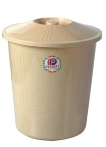 Plastic Bins Waste Paper Basket With Lid Size 265 X