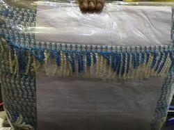 Narrow woven fabric lace