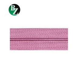 Bhagwati Zippers Pink 3 Number CFC Polyester Zipper, Packaging Type: Bag