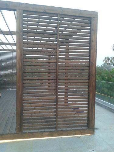 Exterior Wood Louvers