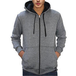 Men's Zipper Sweatshirt With Hood