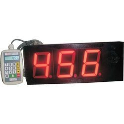 3 Digit Token Display System