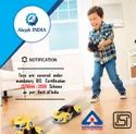 ISI Mark Certification for Electric Toys