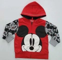 Winter Wear Printed Hooded Kids Wear