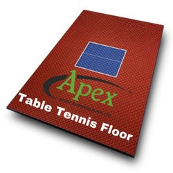 Table Tennis Court Flooring