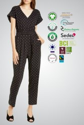 BCI cotton ladies Jumpsuits Manufacturer