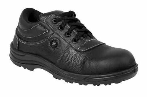 Men Black Steel Toe Safety Shoes At