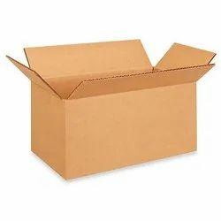Single Wall - 3 Ply Rectangle Heavy Duty Corrugated Box, Box Capacity: 11-20 Kg