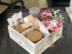 Flower Wooden Gift Box