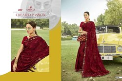 Sanskar Prints Kanghan Chiffon Designer Saree
