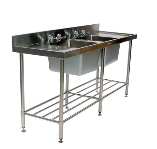 Two Sink Unit at Rs 18000 /piece | Double Bowl Kitchen Sink | ID ...