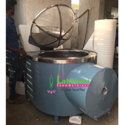 Frying Machine 120Ltr Circular Batch Type Diesel Fully SS