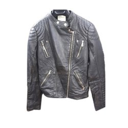 Full Sleeve Plain Ladies Designer Leather Jackets