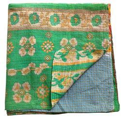 Cotton Kantha Quilt