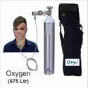 Oxy Kit, Portable Aluminum Cylinder /Oxygen Gas (675 ltr)